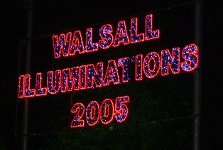 Tourism Review of Walsall Illuminations Picture